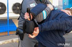 Группа реагирования охранного предприятия Дельта. Челябинск, вор, наручники, нарушитель, задержание