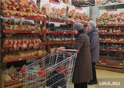 Виды города. Курган, хлеб, хлебный магазин