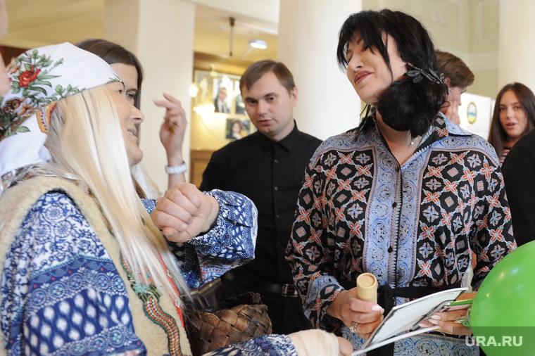 Ирина Текслер на фестивале экологических фильмов. Челябинск