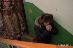 Коммунальная авария в посёлке Мартюш. Свердловская область, холод, отопление, подъезд, греет руки