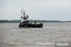 Добыча рыбы в Сургутском районе. Сургут, катер