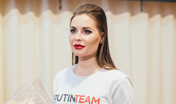 Юлия Михалкова на встрече со студентами в Верхней Пышме. Екатеринбург, михалкова юлия, putin team, путин тим, putinteam, путинтим