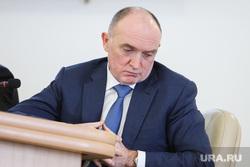 Заседание Совета при полномочном представителе Президента Российской Федерации в УрФО. Курган, портрет, дубровский борис