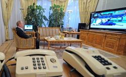 Клипарт. Сайт президента России, телефон, путин владимир, телевизор