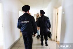 Туберкулезный диспансер в селе Чернавское. Курганская область, полиция