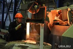 Открытие литейного цеха на Курганском арматурном заводе. Курган, литье, литейный цех, курганский арматурный завод, разливка металла