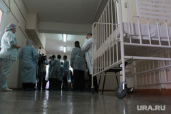 Посещение Бориса Дубровского детской горбольницы № 3. Магнитогорск, больница