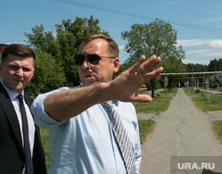Врио губернатора Курганской области Вадим Шумков посетил ЗАО