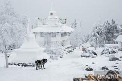 Буддийский монастырь Шедруб Линг. Качканар, шедруб линг, ступа буддийская