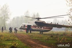 Горят леса. Село Иковка, вертолет мчс, лесные пожары, эвакуация