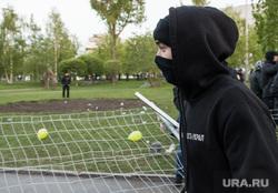 Второй день протестов против строительства храма Св. Екатерины в сквере около драмтеатра. Екатеринбург, молодежь, храм на драме, сквер на драме