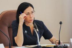 Аппаратное совещание у врип мэра Натальи Котовой. Челябинск, портрет, котова наталья