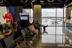 Выдача багажа в Международном аэропорту «Кольцово». Екатеринбург, аэропорт, зал ожидания, шереметьево, терминал B