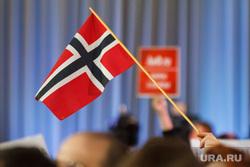 Путин. Архив, флаг норвегии