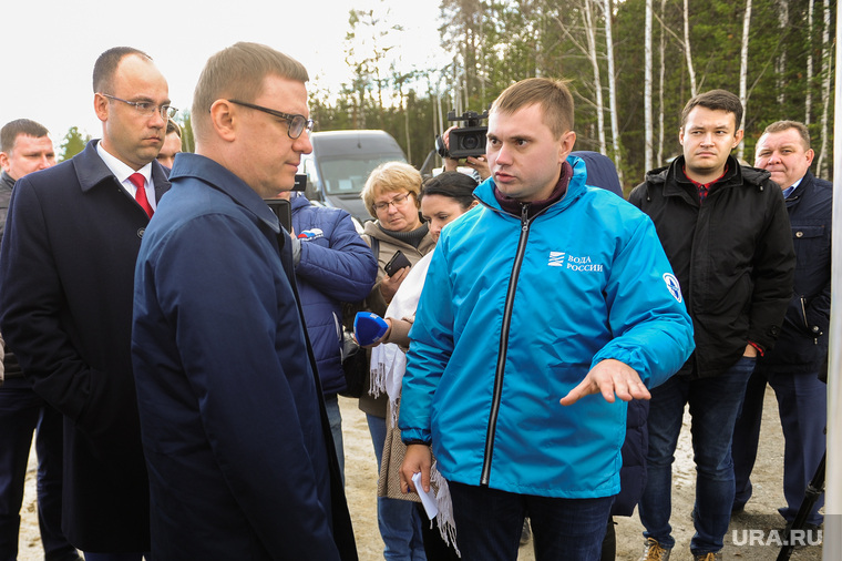 Рабочий визит Губернатора Челябинской области Алексея Текслера в Карабаше. Челябинская область