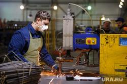 Визит Игоря Холманских на объекты Атомстройкомплекса, сварка, арматура, токарь, изготовление детали, производство, технарь, рабочий