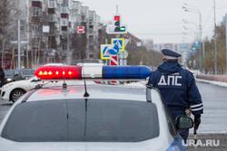 Открытие дороги. Сургут, регулировщик дорожного движения, полиция, проблесковый маячок, гибдд, дпс