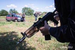 Клипарт. Магнитогорск, автомат, оружие, росгвардия, ак-47