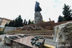 Реконструкция памятника В.И. Ленину на Площади Революции. Челябинск, реконструкция памятника ленину