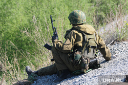Солдаты, армия. Челябинск., солдат, боец, армия, оружие