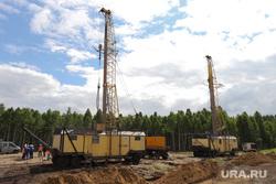 Пресс-тур на промышленное освоение Хохловского месторождения урана. Шумихинский район, бурение, далур, добыча урана