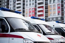Открытие новой подстанции Скорой медицинской помощи в микрорайоне Академический. Екатеринбург, спальный район, красный крест, медицина, скорая помощь, скорая медицинская помощь, машина скорой помощи
