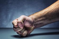Клипарт depositphotos.com, кулак, бить кулаком по столу