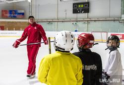 Хоккеист Павел Деменьшин. Екатеринбург, дети, тренировка, спартаковец, хоккей