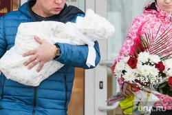 Визит детского омбудсмена Анны Кузнецовой в Екатеринбург, новорожденный