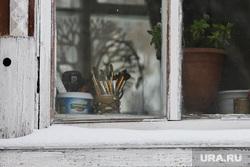 Дом купца Дунаева. Курган, школа искусств1, окно, дом купца дунаева