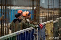 Инспекция дорог Главой города совместно с Краснояровой Н.А. Сургут, рабочие, стройка