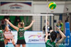 Матч женской волейбольной Лиги чемпионов между ВК