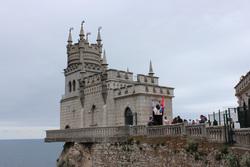 Клипарт pixabay. Viktor Levit , замок, море, крым, курорт, ялта, отдых, туризм, мыс