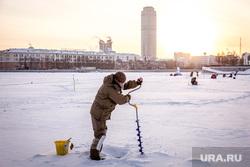 Рыболовные состязания. Екатеринбург, зимняя рыбалка, ледобур