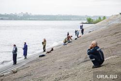 Рыбаки на Камской ГЭС. Пермь, рыбаки, кама, рыба, река, рыбалка