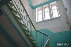 Микрорайон Гайва. 5 зона построенная немецкими пленными в 1951 году. Пермь, подъезд