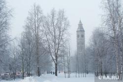 Февральские морозы. Сургут, зима, школа иностранных языков, город сургут, биг бен