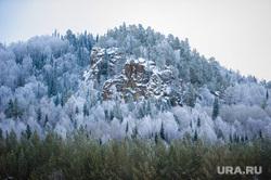 Хребет Зигальга, поселок Верхний Катав, Челябинская область, зима, лес, национальный парк, зигальга, горы