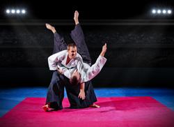 Клипарт depositphotos.com, боевые искусства, спорт, айкидо, единоборства