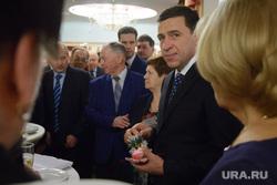 Новогодний прием Евгения Куйвашева в Театре Эстрады для представителей общественности. Екатеринбург, куйвашев евгений
