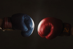 Клипарт depositphotos.com, бокс, боксерские перчатки, битва