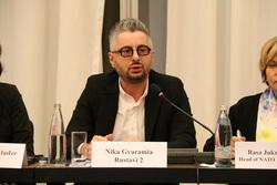 OSCE Parliamentary Assembly from Copenhagen, Denmark - Nika Gvaramia, Director General of Rustavi 2, CC BY-SA 2.0, gvaramia nika, гварамия ника, rustavi2, рустави2
