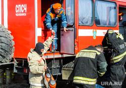 Учения МЧС по тушению лесных пожаров и сельскохозяйственных палов. Челябинск, мчс, пожарный