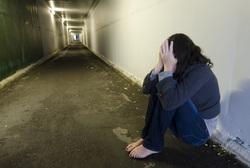 Клипарт depositphotos.com , страх, жертва, боль, насилие, женщина, агрессия