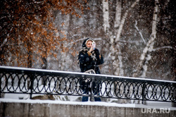 Снегопад в Екатеринбурге, снег, телефон, зима, айфон, фото на телефон, селфи, фотография, екатеринбург , снегопад