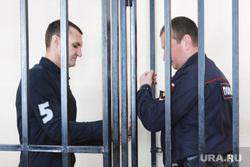 Судебное заседание по уголовному делу бывшего заместителя губернатора Курганской области Ванюкова Романа. Курган, решетка, наручники, полиция, ванюков роман, конвой