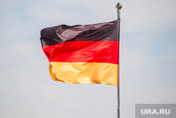 Открытие завода MC Bauchemie. Тюмень, флаг германии