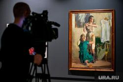 Выставка в Манеже «Память поколений». Москва, картина