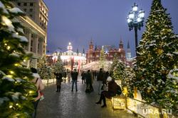 Новогодняя Москва. Москва, город москва, гим, новый год, иллюминация, государственный исторический музей
