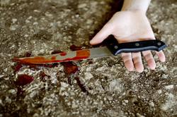 Клипарт. Сток depositphotos.com, убийство, кровь, нож в руке
